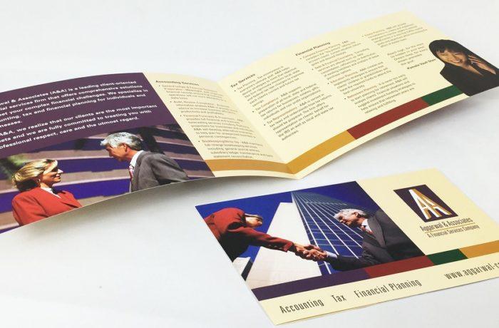 aggarwal & associates brochure design