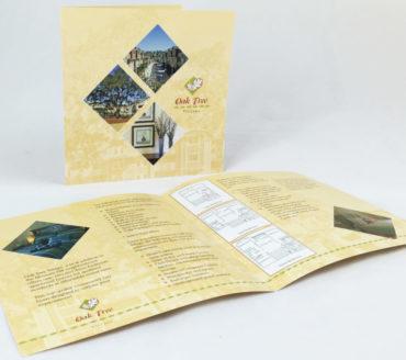 Oaktree brochure design